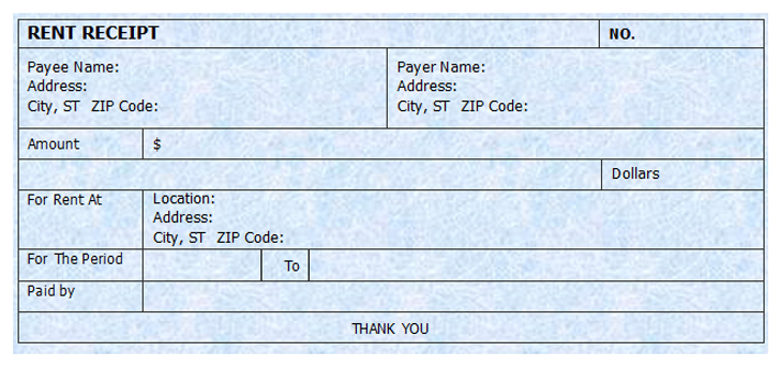 Top 10 Free Receipt Templates For Microsoft Word MagTemplates – Rent Receipt Template Microsoft Word