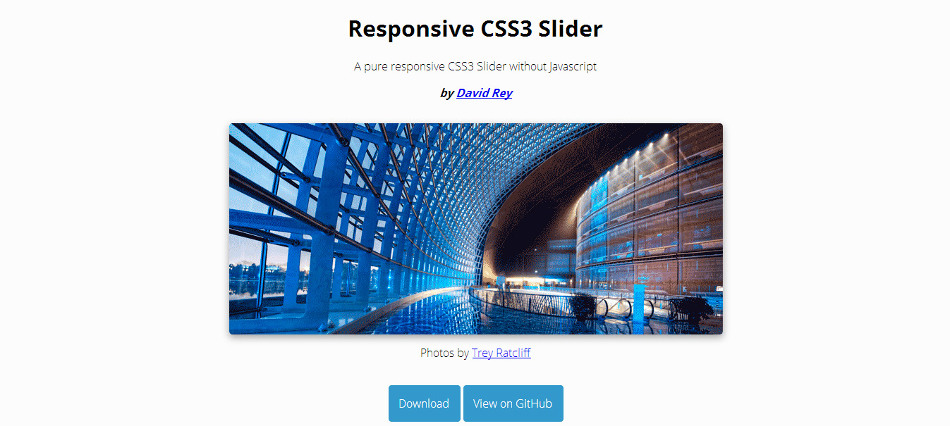 13 Most Creative Pure CSS3 Image Sliders - MagTemplates