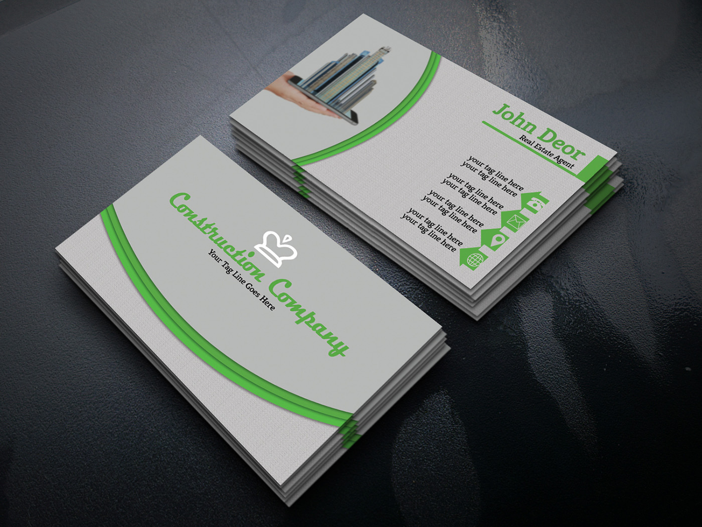15 best business card designs 2018 magtemplates real estate business card colourmoves
